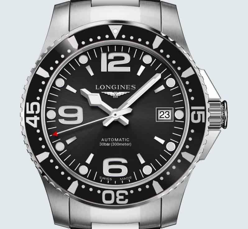 Longines HydroConquest Dial and Case